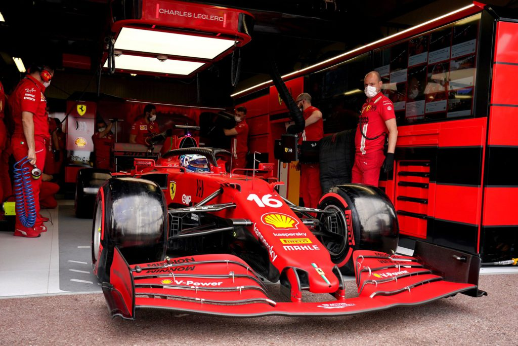 Monaco GP - Charles Charles will not start the race due to an issue with the left driveshaft