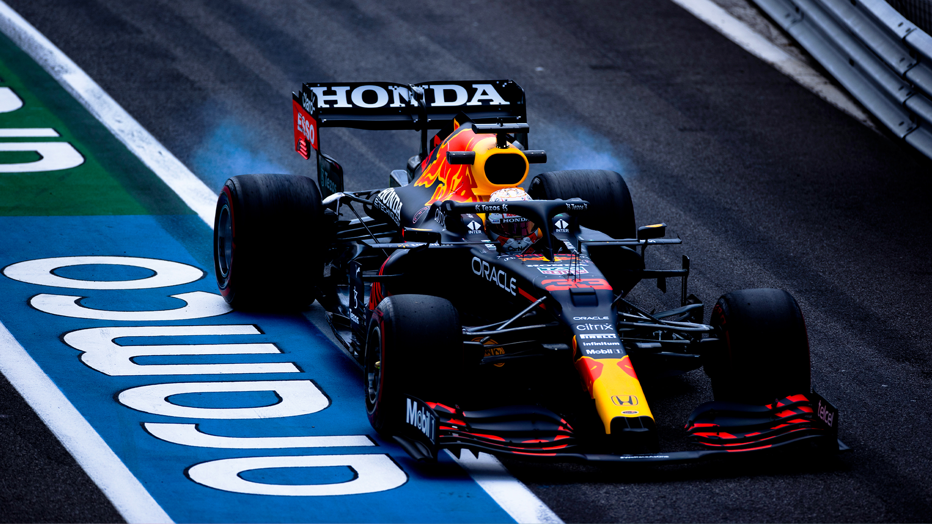 Practice Two Max Verstappen F1 2021 French GP Mercedes