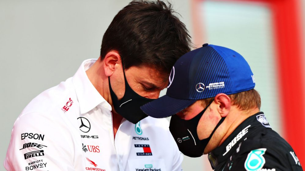 Wolff reveals early Bottas mistake costed Mercedes' French GP wins