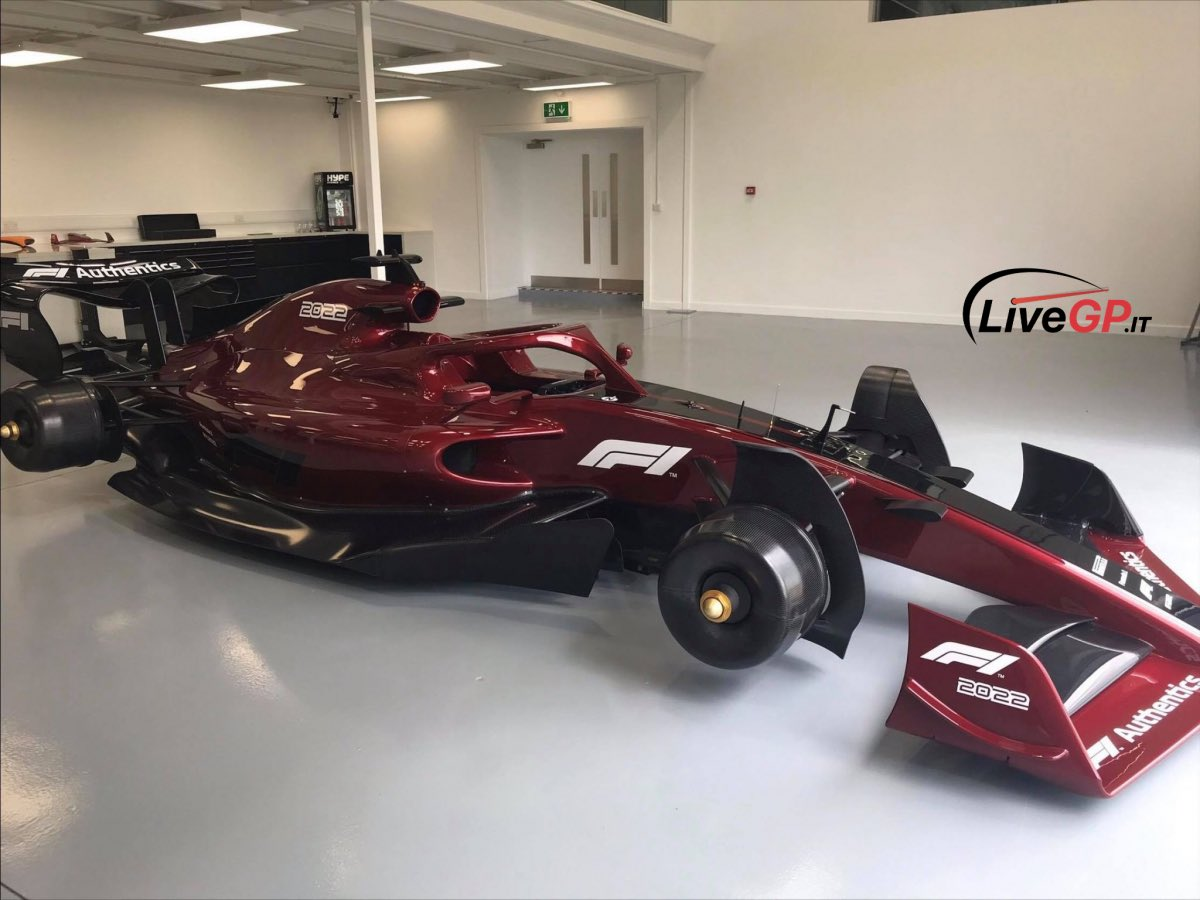 first pictures of 2022 F1 cars 1